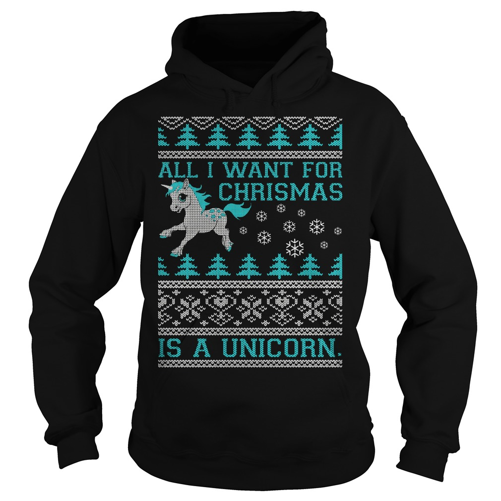 All I want for Christmas is a Unicorn Hoodie