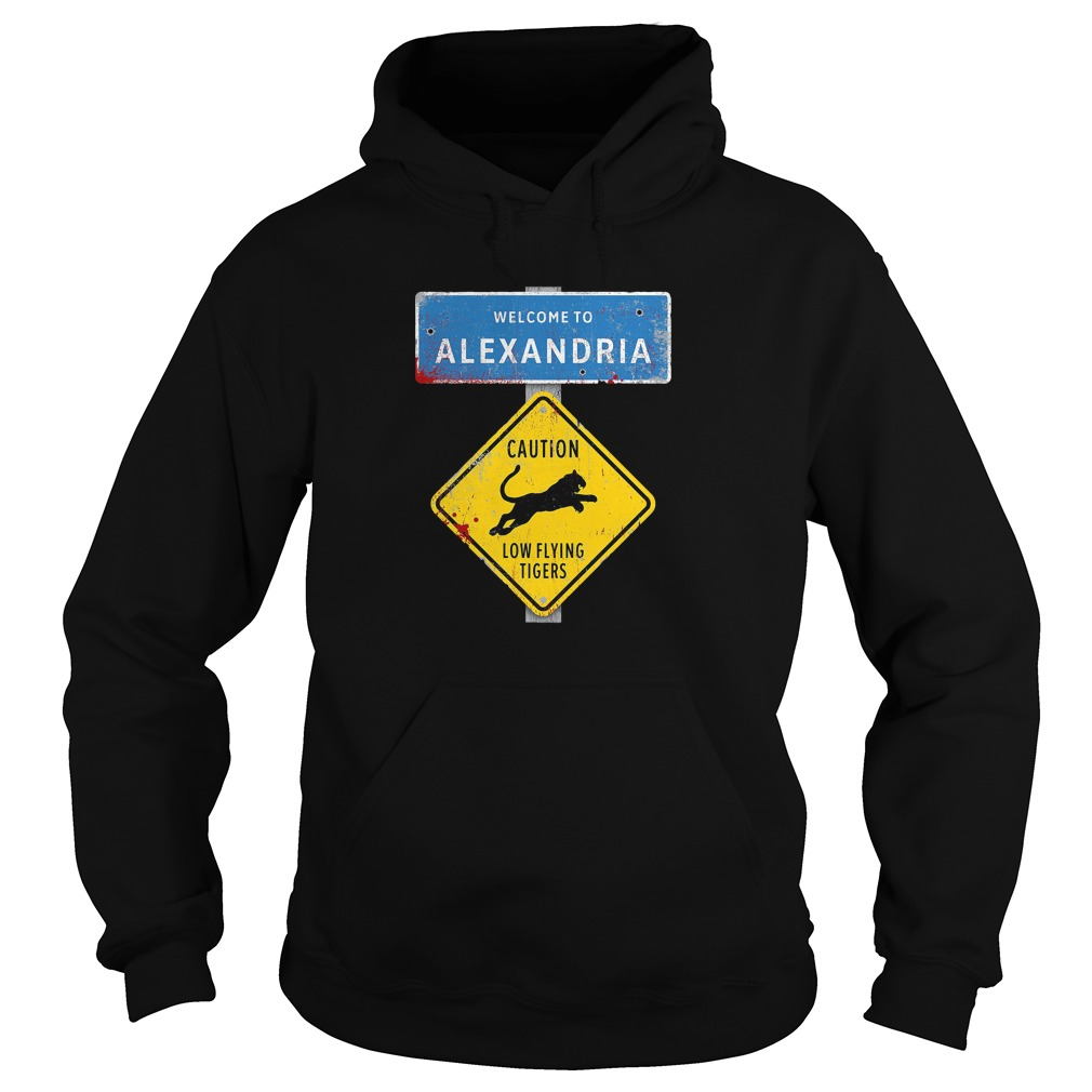 Welcome to Alexandria the Walking Dead Hoodie