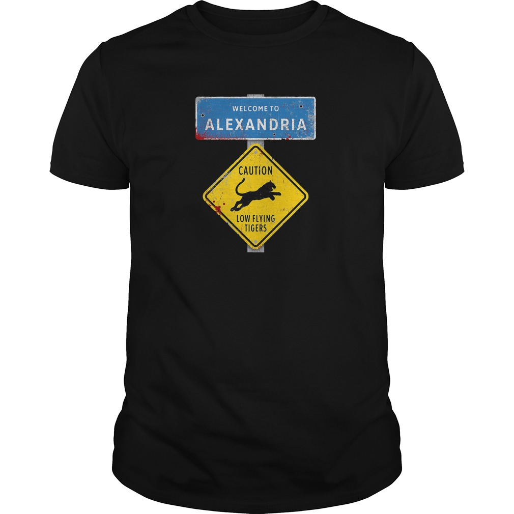 Welcome to Alexandria the Walking Dead shirt