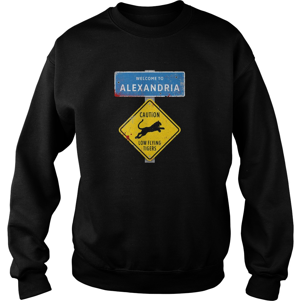 Welcome to Alexandria the Walking Dead Sweater