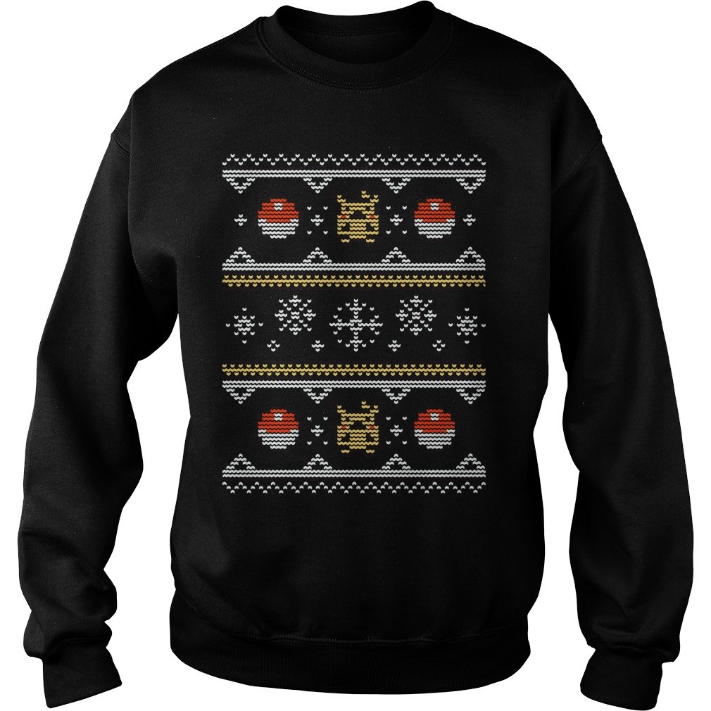 8-bit Christmas sweater