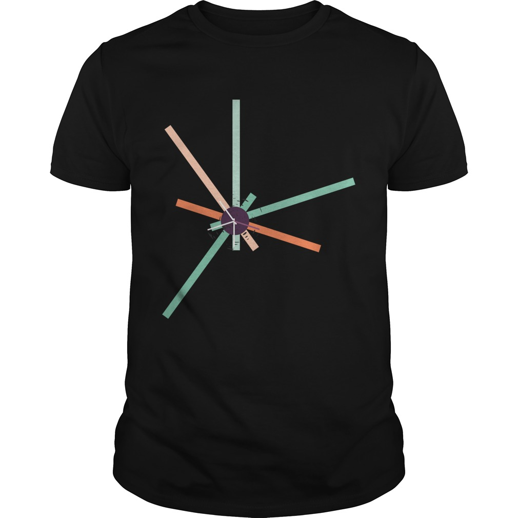Abstract city - past time shirt