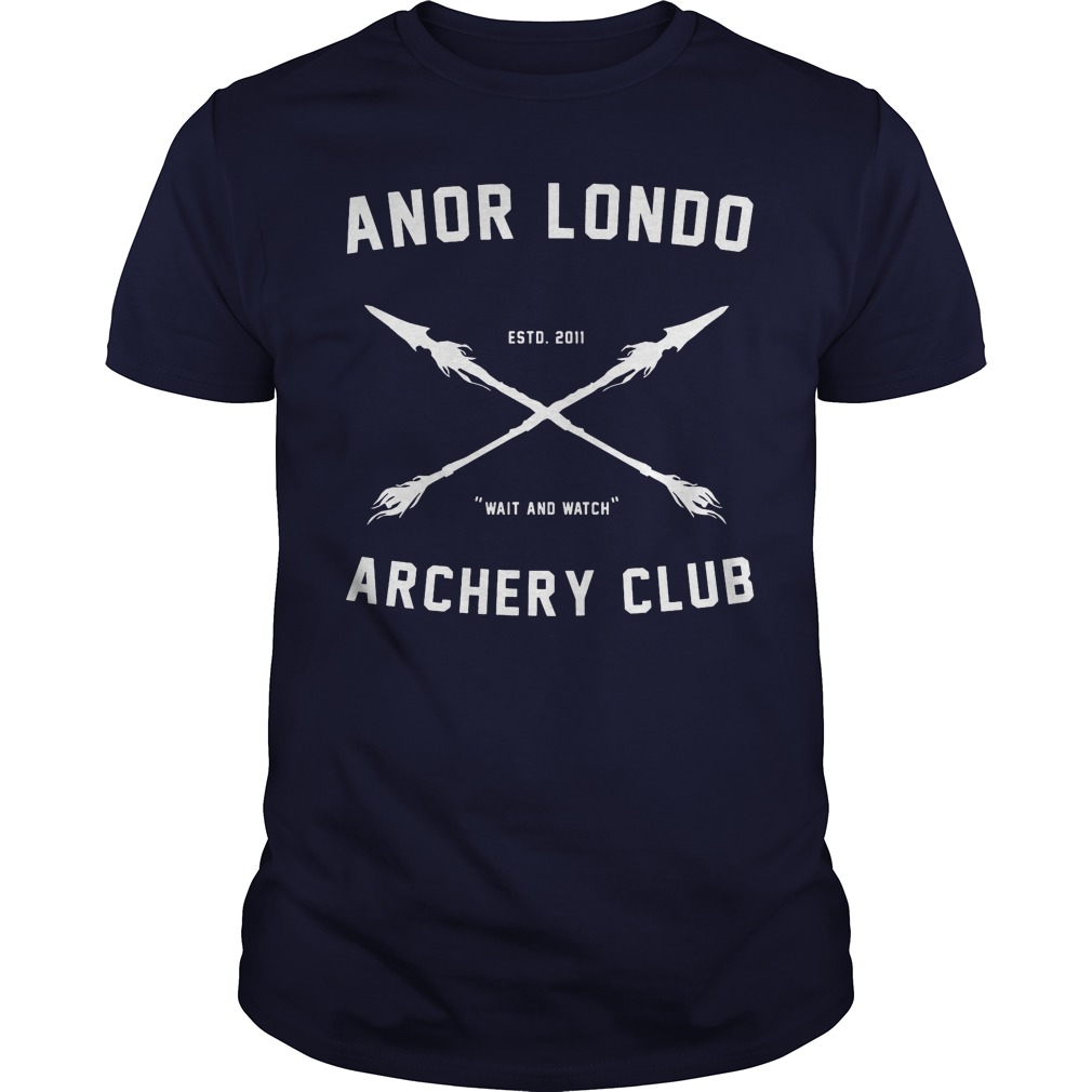 Anor londo archery club shirt