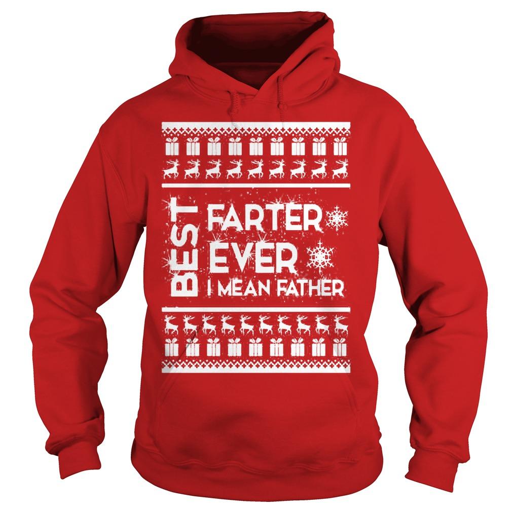 Best farter Christmas ugly Hoodie