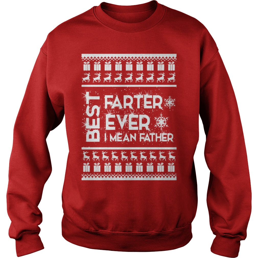Best farter Christmas ugly sweater