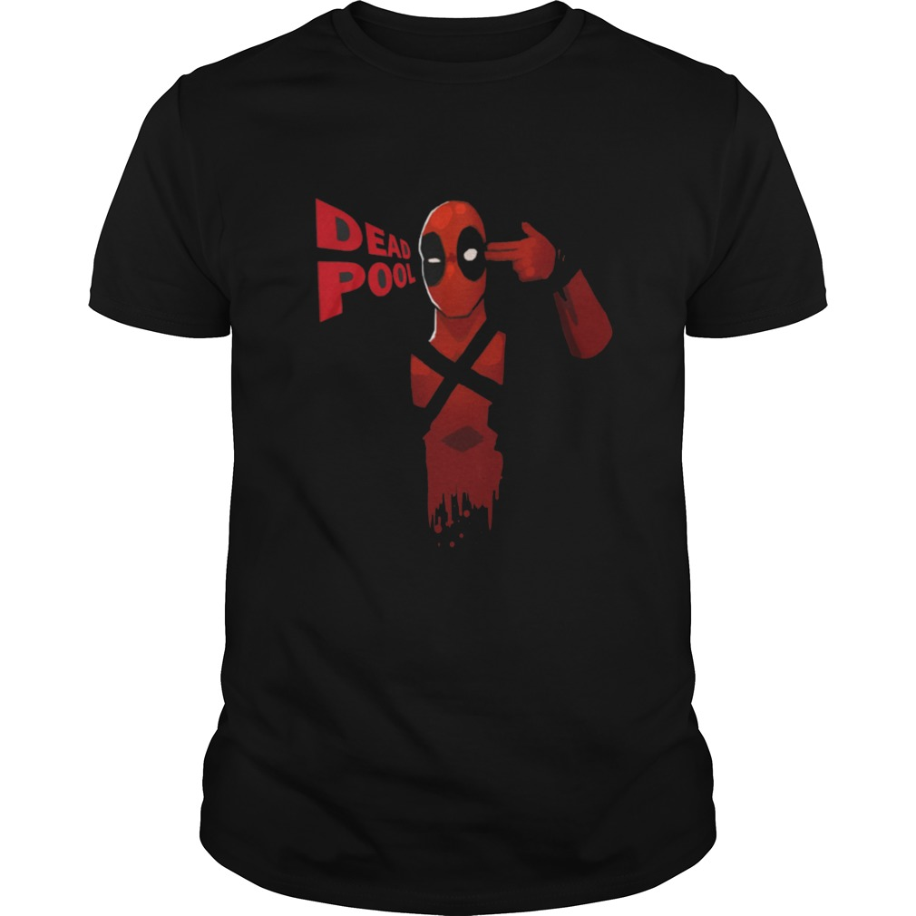 Best mans Dead Pool front shirt