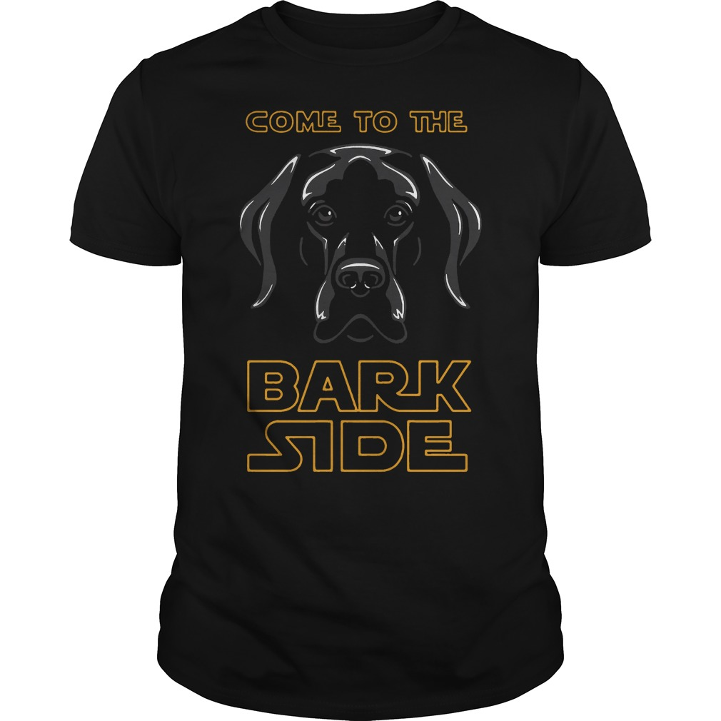 Come to the bark side - black Dog shirt