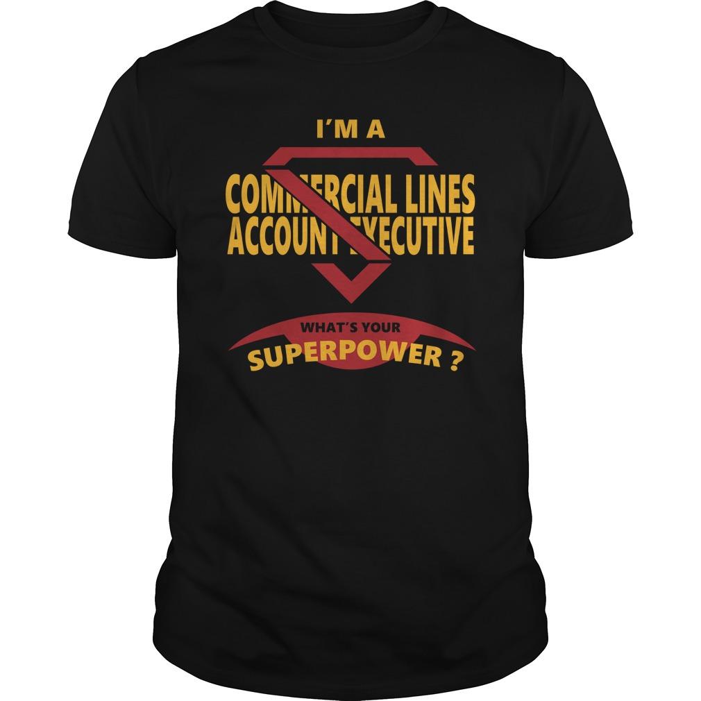 Commercial lines account executive jobs shirt