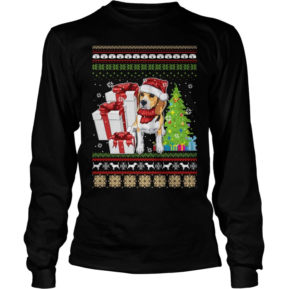 Dogs ugly Christmas Longsleeve tee