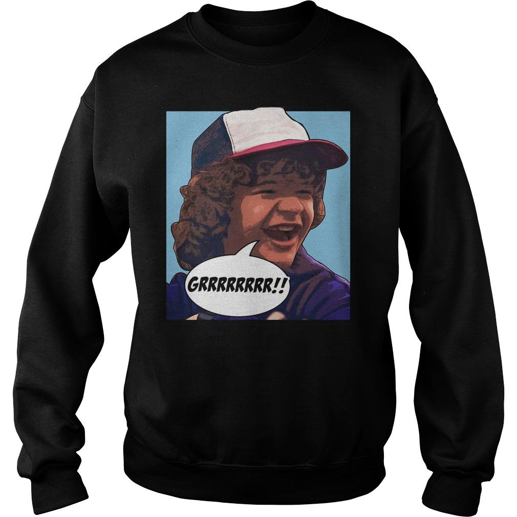 Dustin Grrrrrrr Stranger Things Sweater