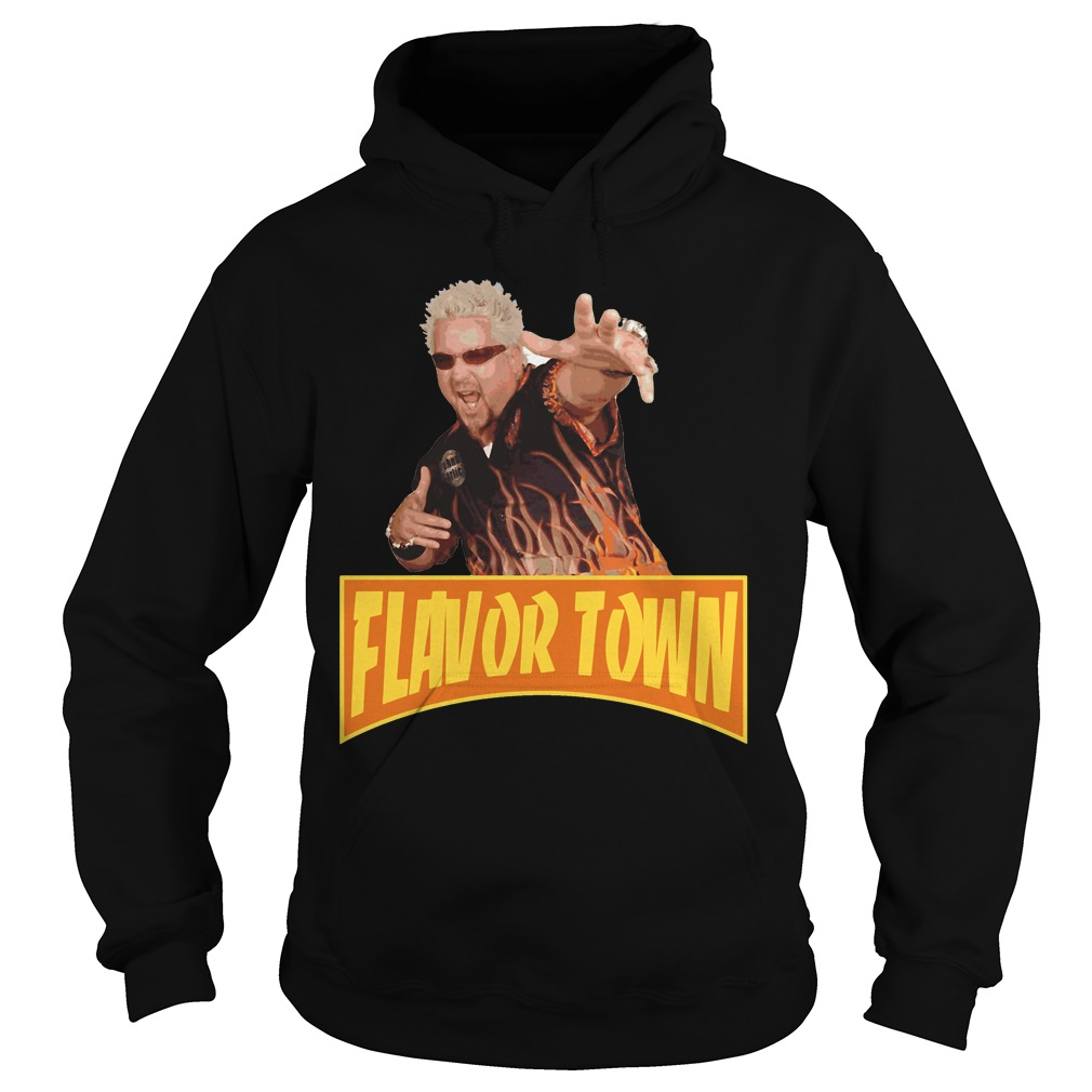Flavor Town USA - Guy Fieri Hoodie