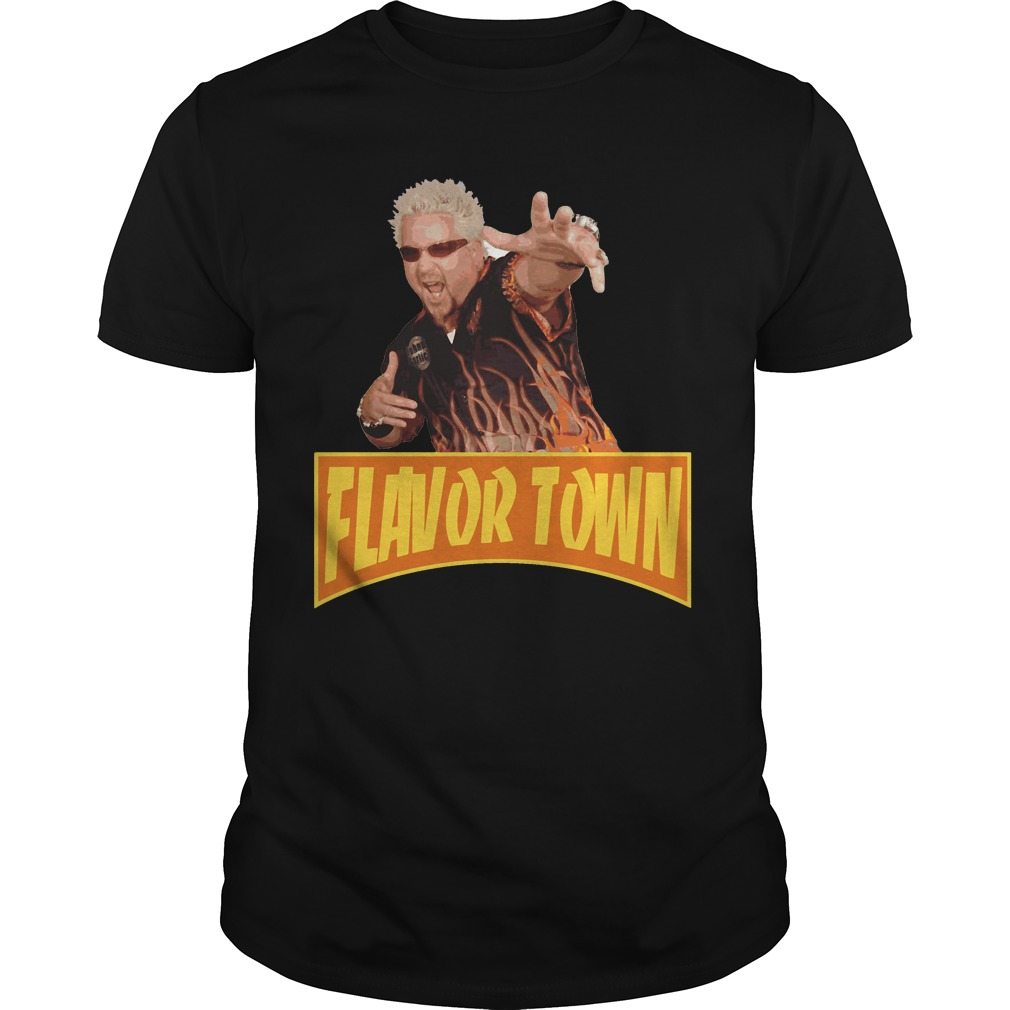 Flavor Town USA - Guy Fieri shirt