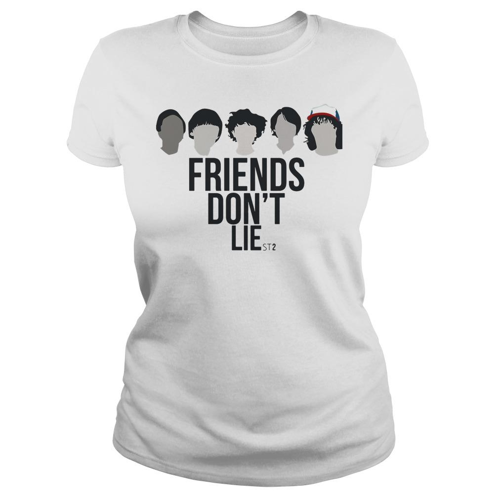 Friends Don't Lie - Stranger Things season 2 Ladies tee