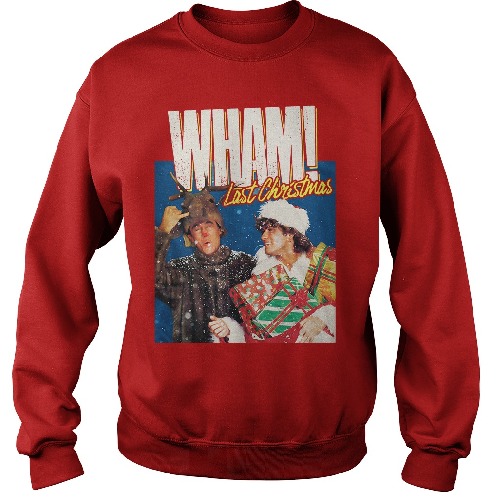 George Michael Last Christmas WHAM Sweater