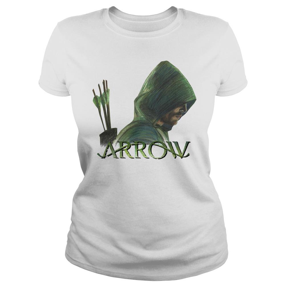 Green Arrow Ladies tee