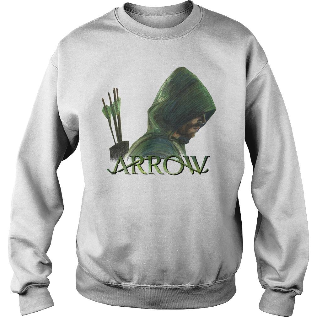 Green Arrow Sweater