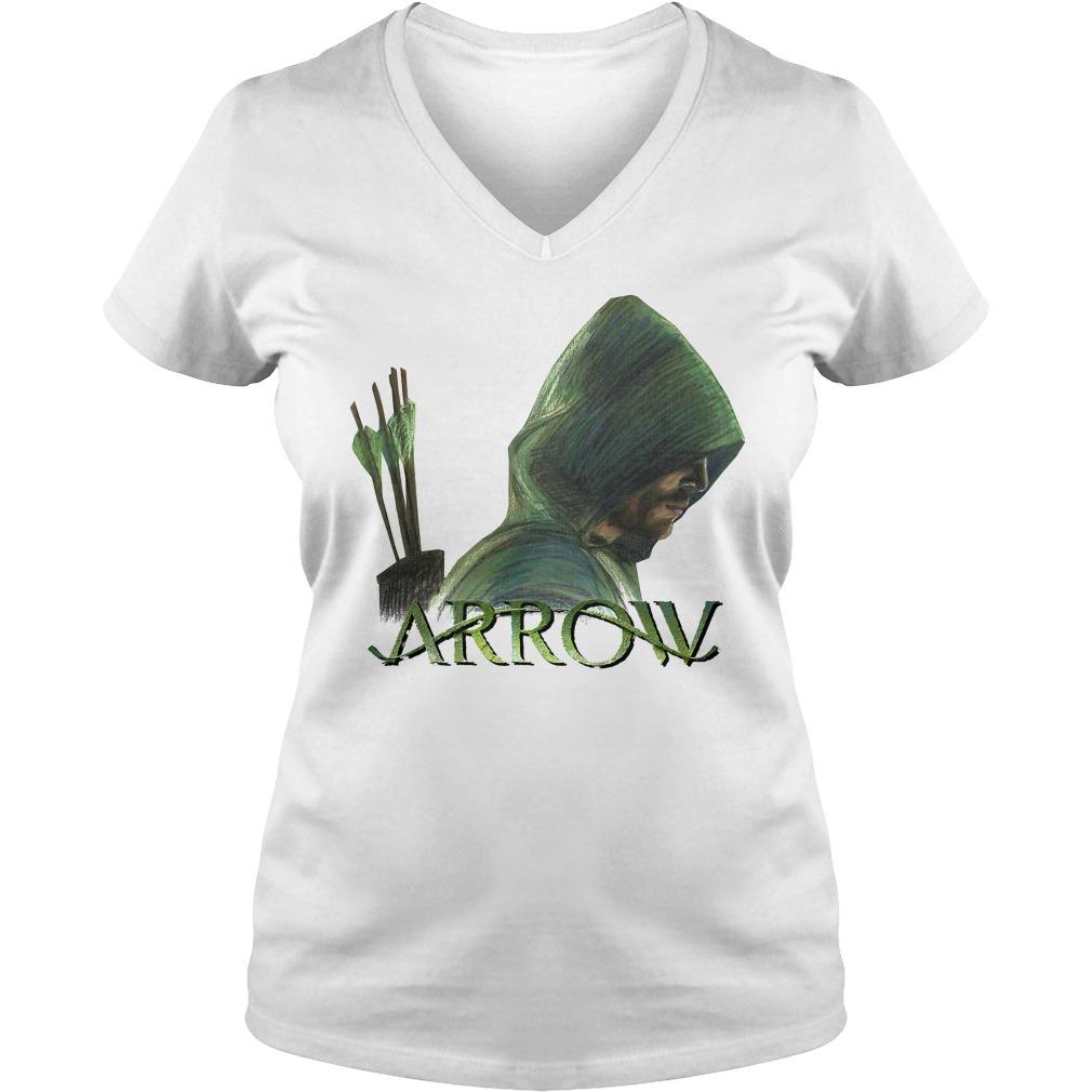 Green Arrow V-neck t-shirt