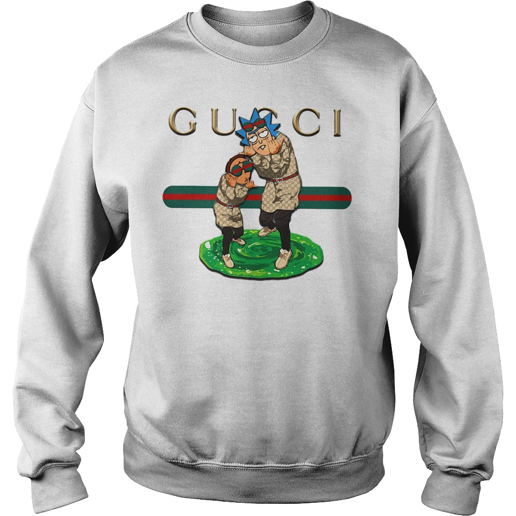 Gucci rick and morty Sweatshirt