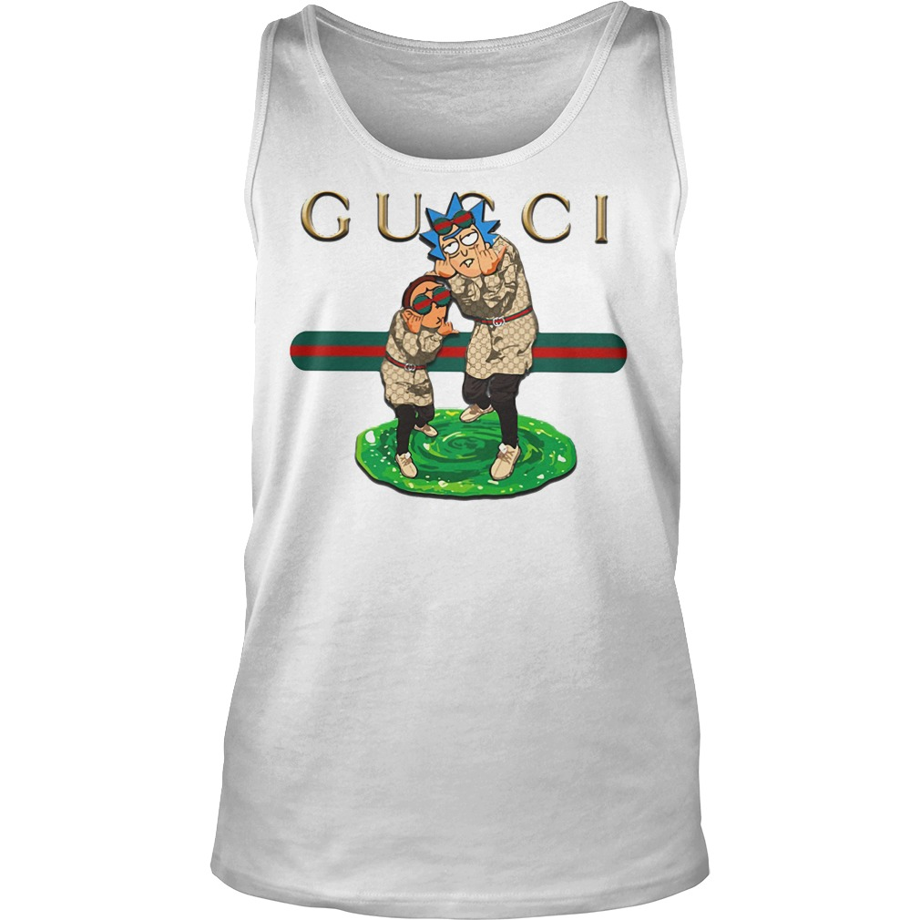 Official Gucci rick and morty Tank top