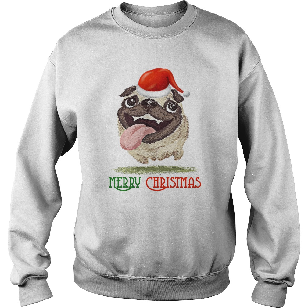 Happy Merry Christmas PitBull sweater