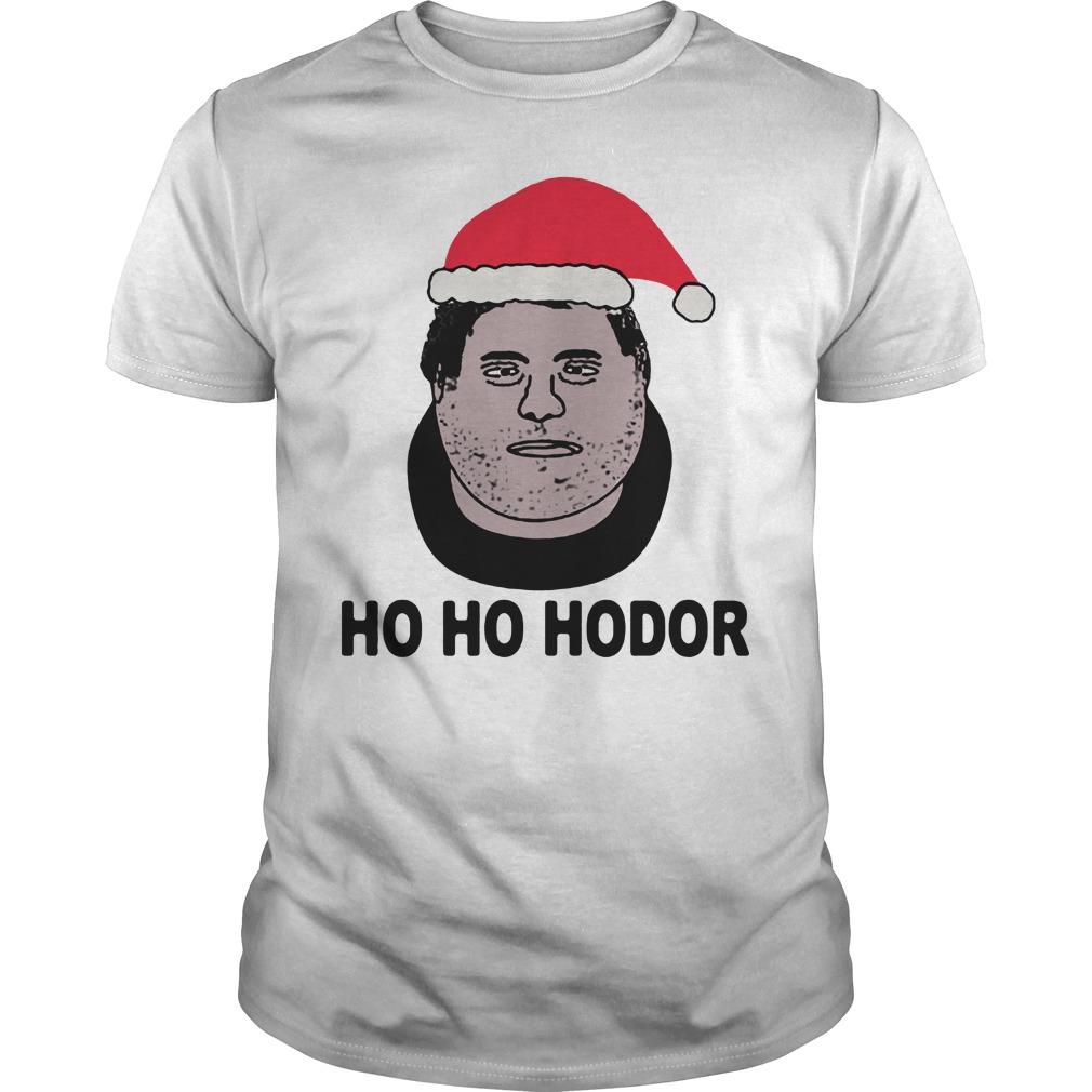 HO HO HODOR shirt