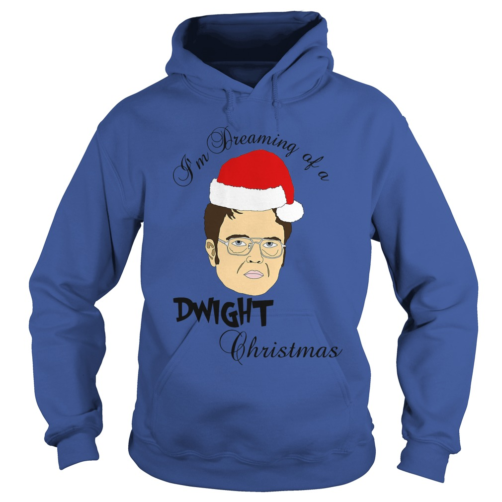 I'm dreaming of a Dwight Christmas Hoodie