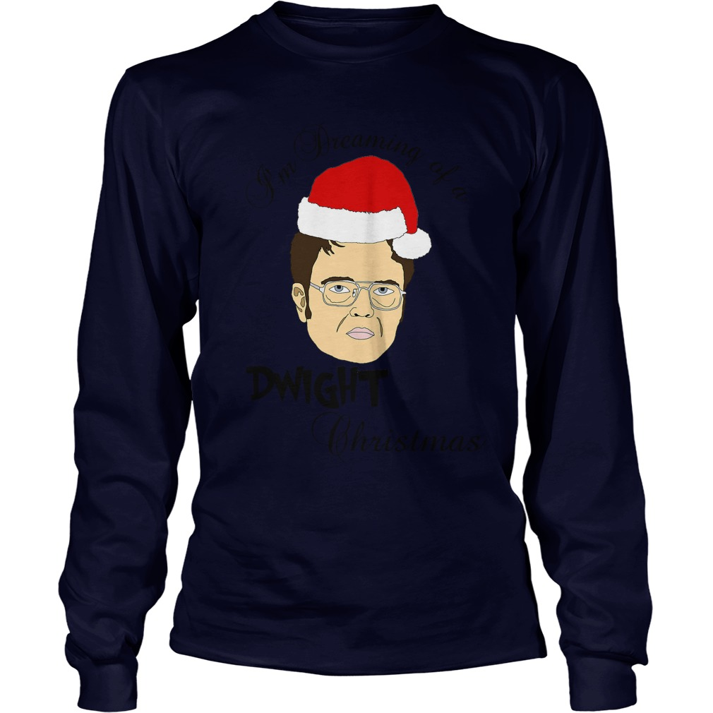 I'm dreaming of a Dwight Christmas Longsleeve tee