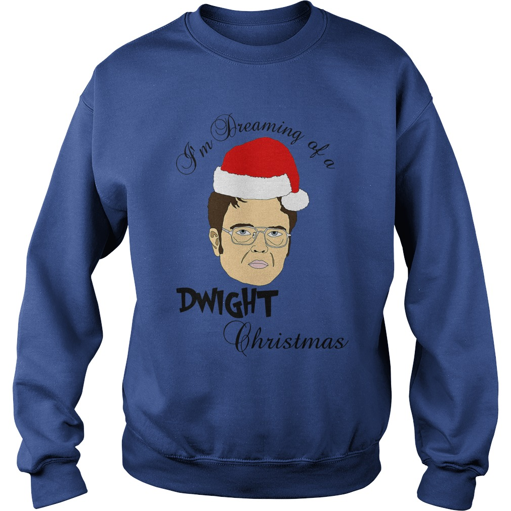 im dreaming of a dwight christmas sweater