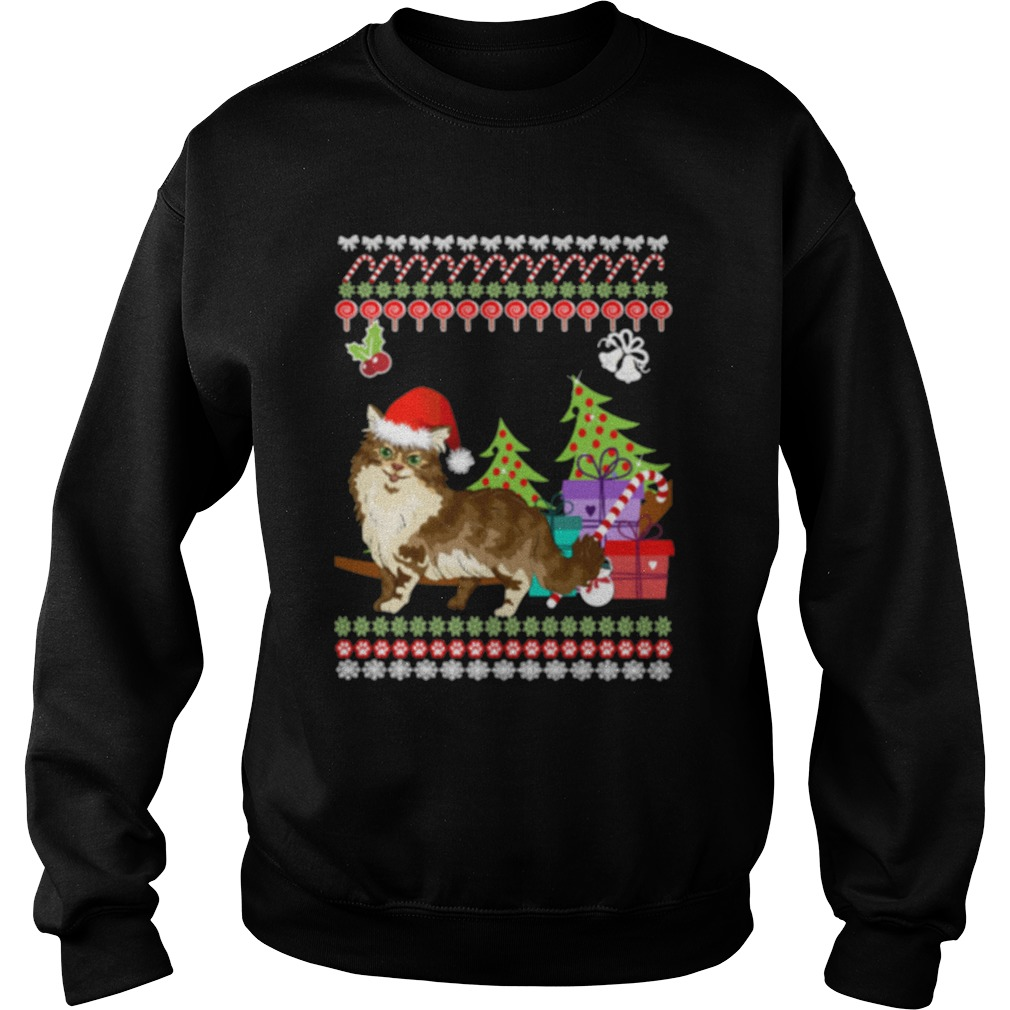 Maine Coon ugly chirstmas sweater