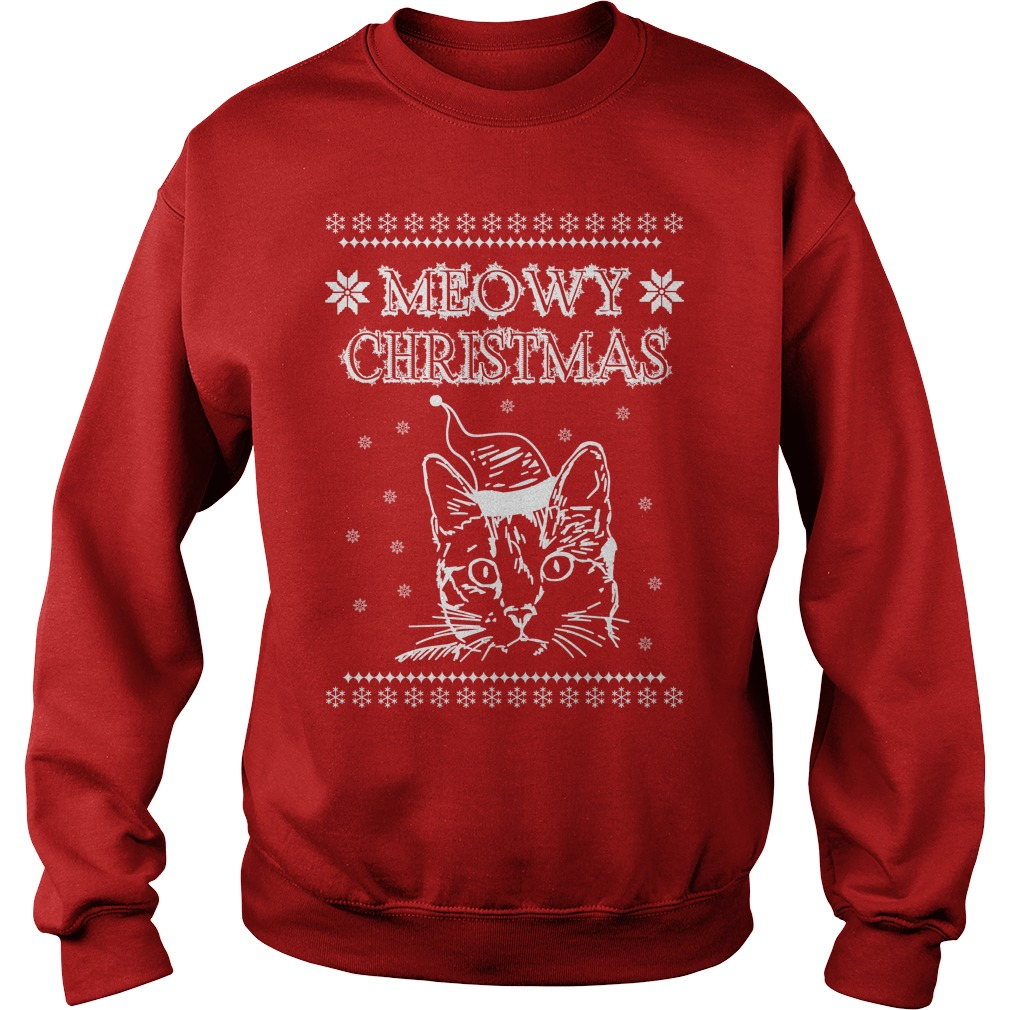 Meowy Simply Southern Christmas sweater