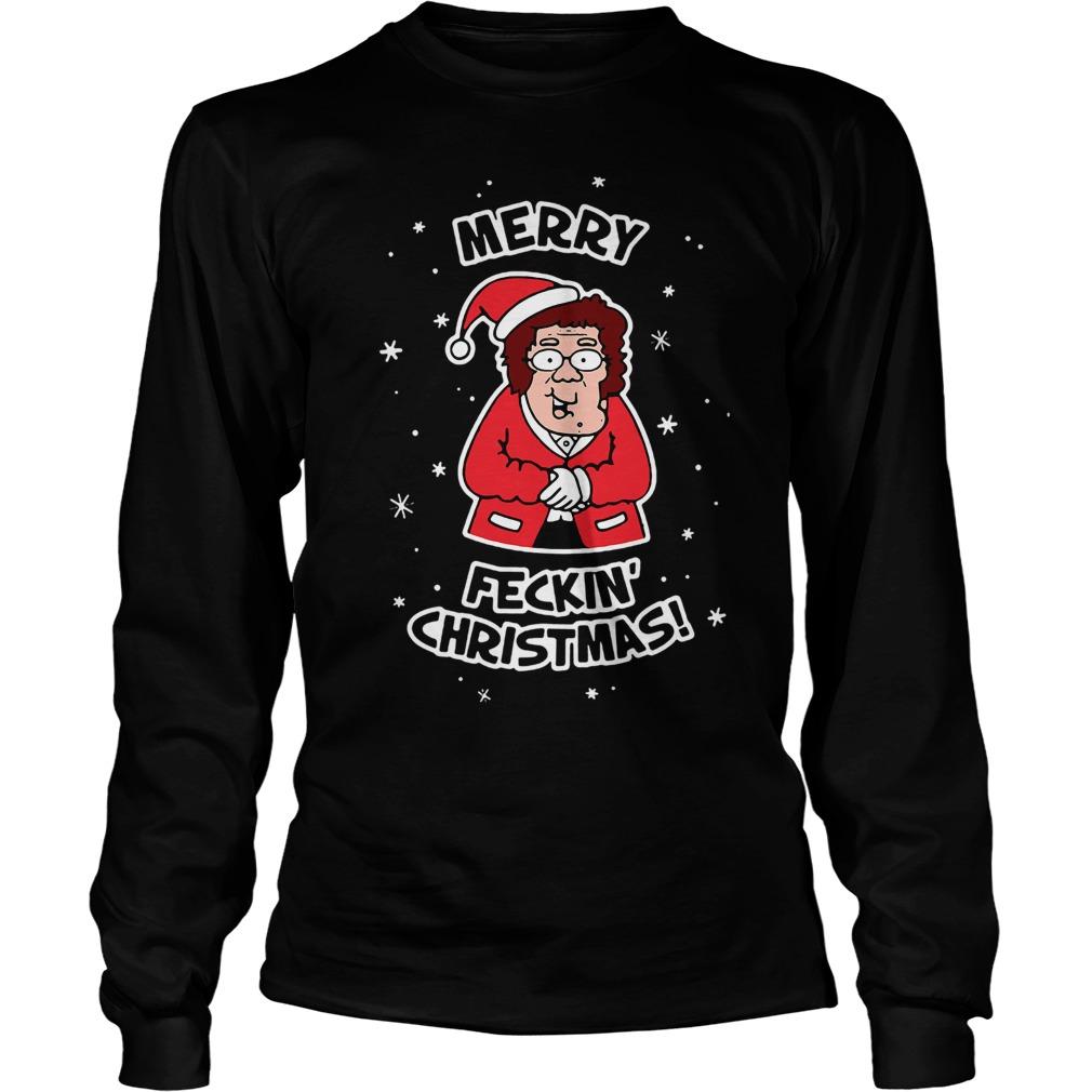 Merry Feckin Christmas Longsleeve tee