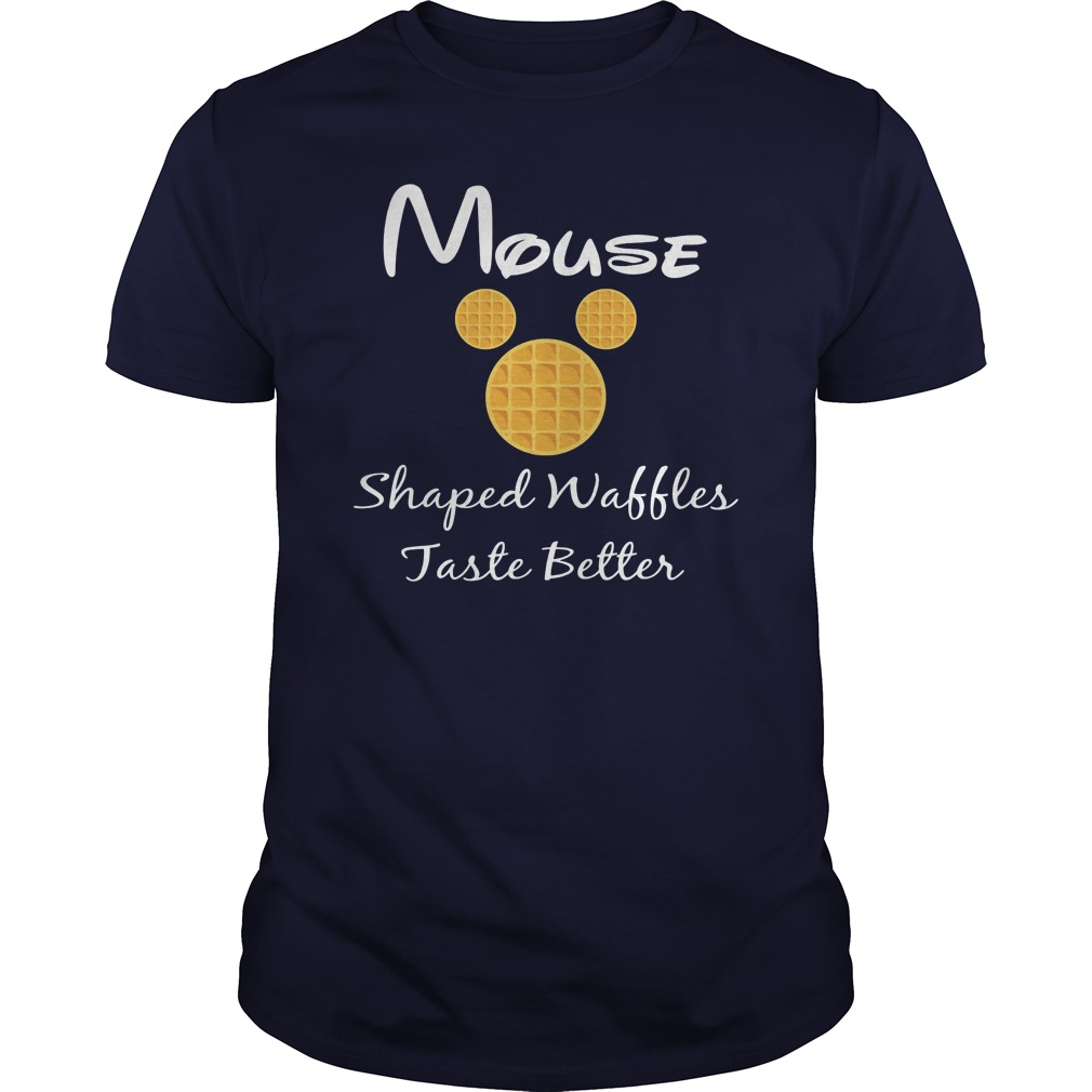Mouse shaped waffles taste better shirt