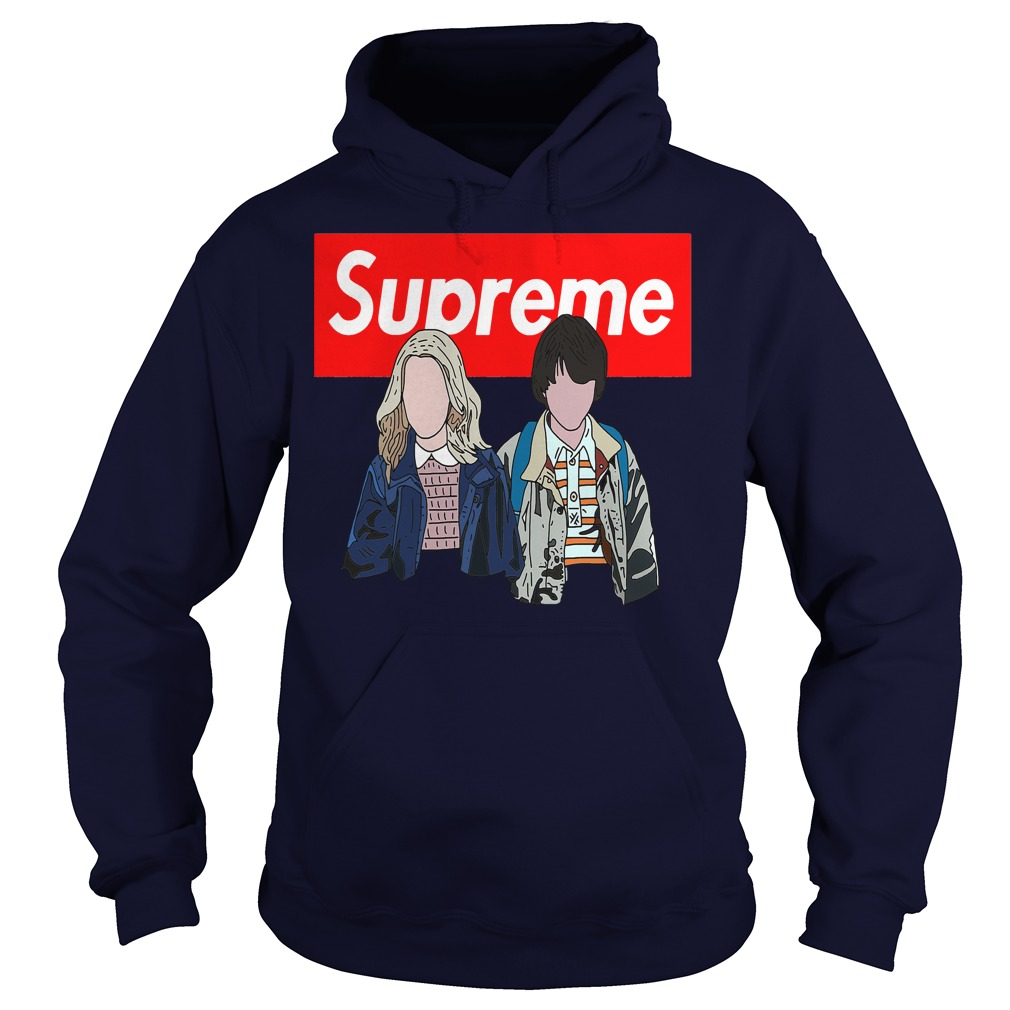 Offical Stranger things: Supreme Eleven and Mike Hoodie