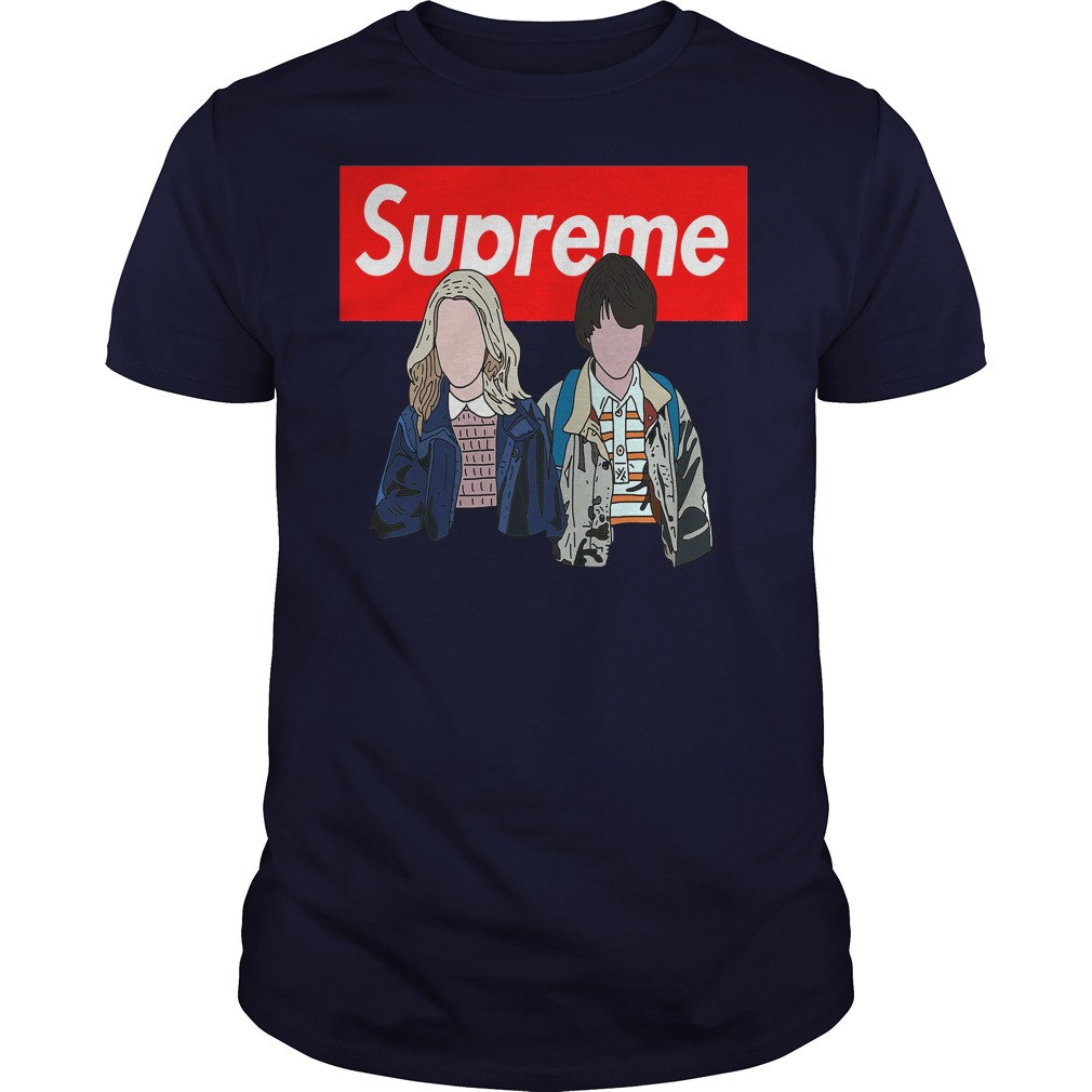 Offical Stranger things: Supreme Eleven and Mike shirt