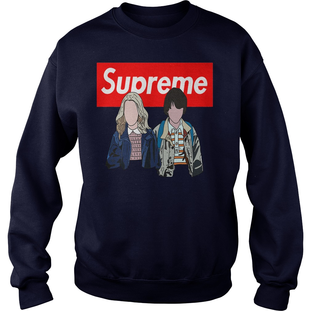 Offical Stranger things: Supreme Eleven and Mike Sweater