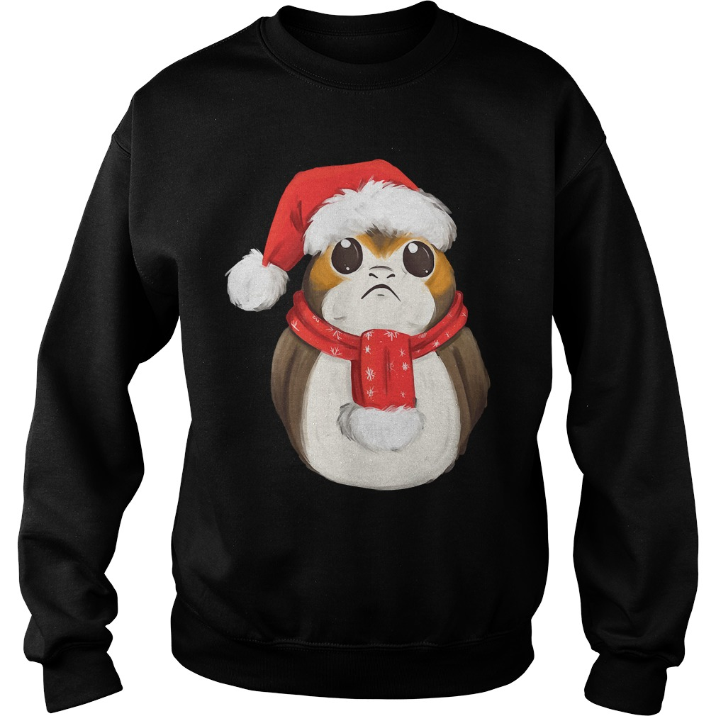 Official Xmas Porg sweater