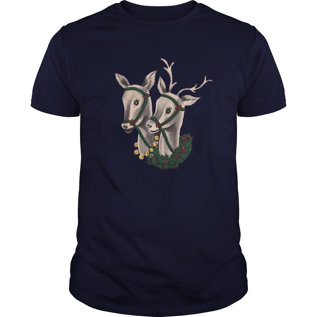Pair of Reindeer Guys shirt
