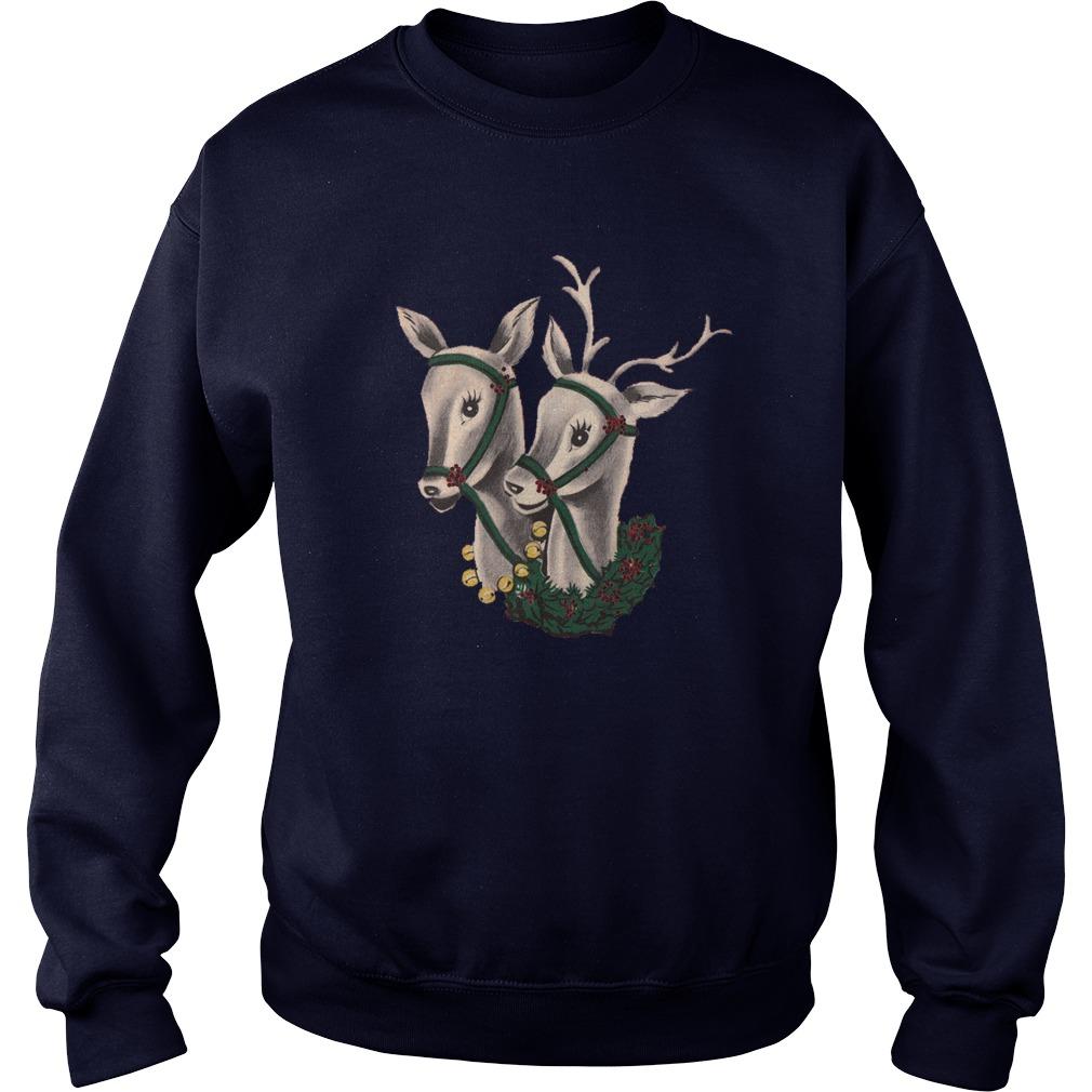 Pair of Reindeer sweater