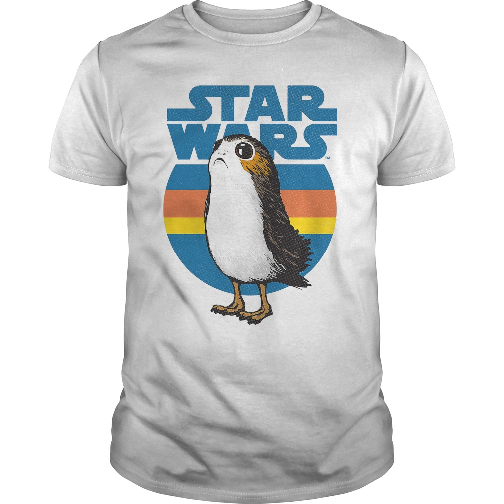 Porg Retro Star Wars shirt
