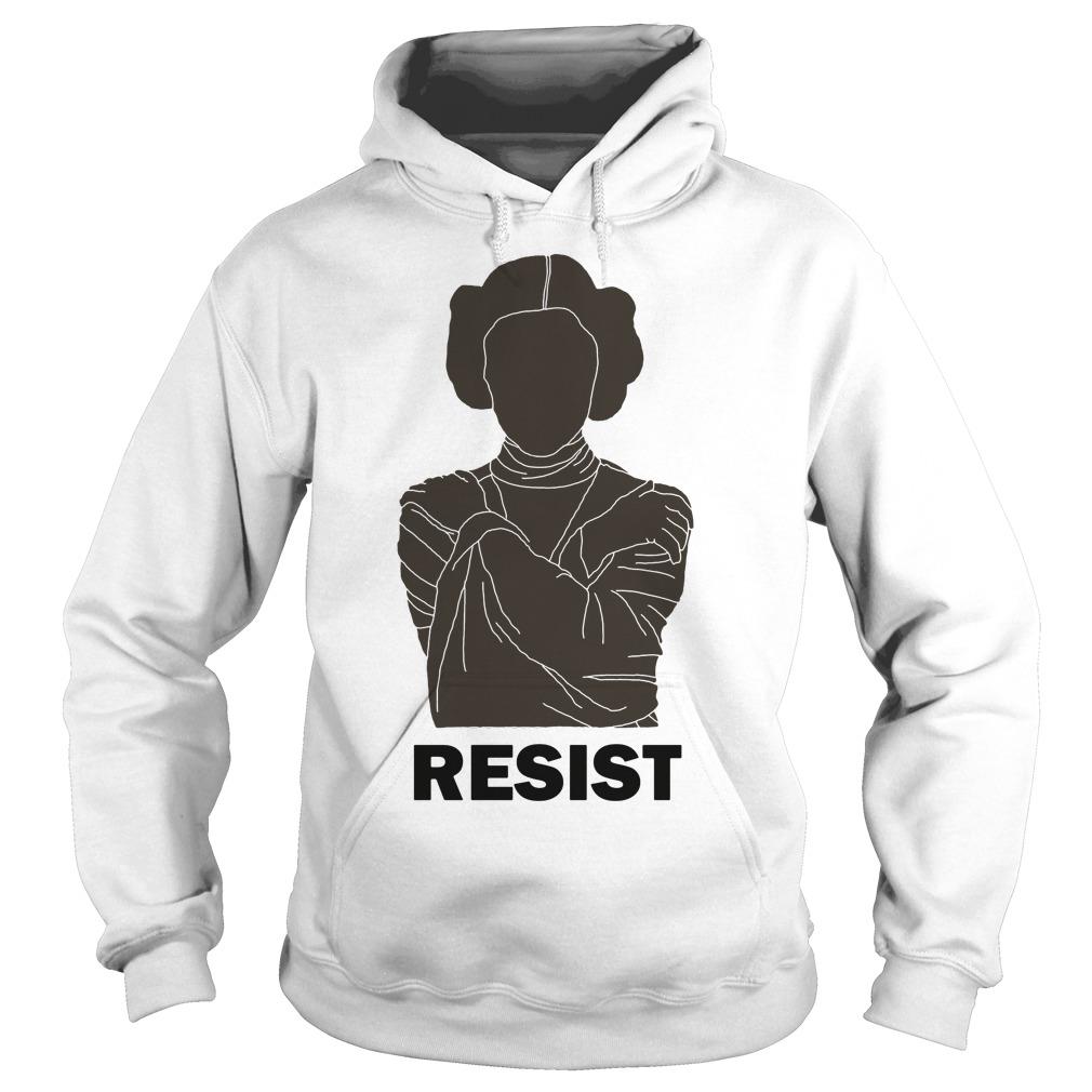 Princess Leia Resist Hoodie