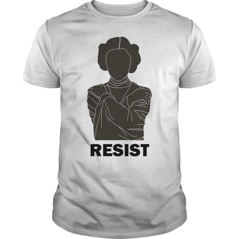 Princess Leia Resist shirt