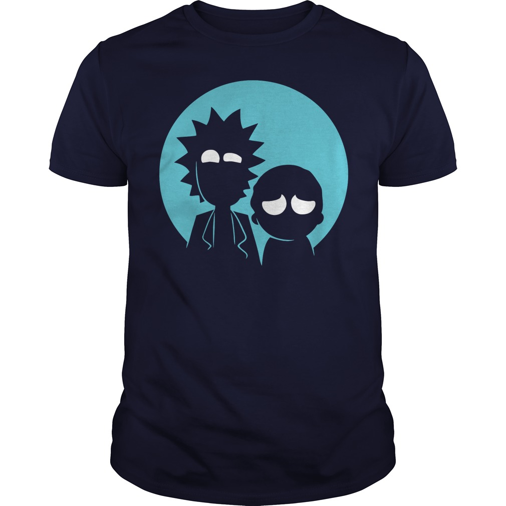 Rick and Morty in Blue shirt