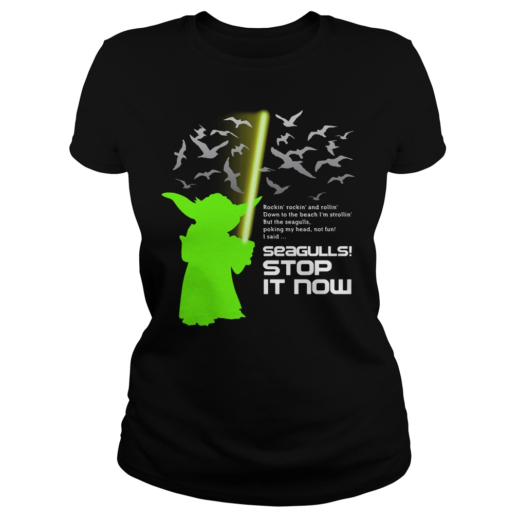 Seagulls stop it now Star Wars Ladies tee
