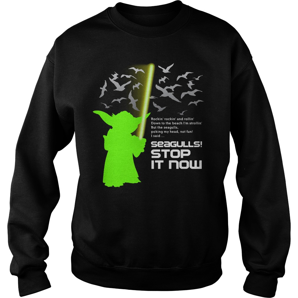 Seagulls stop it now Star Wars Sweater