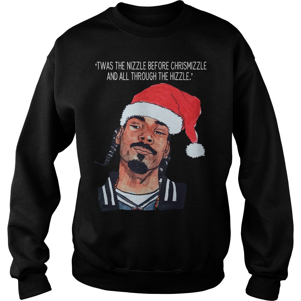 Snoop Dogg twas the nizzle before Christmizzle Sweater