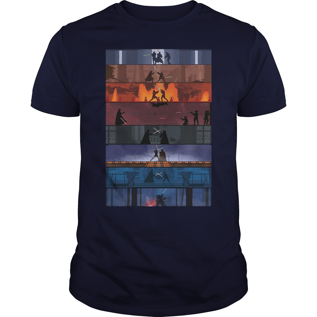 Star Wars Duels shirt