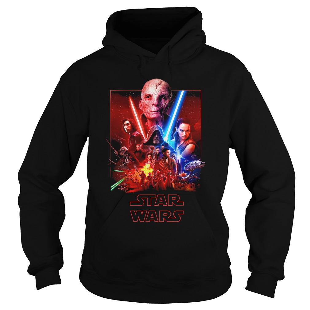 Star Wars the last Jedi (Snoke, Kylo Ren, Rey and Luke) Hoodie