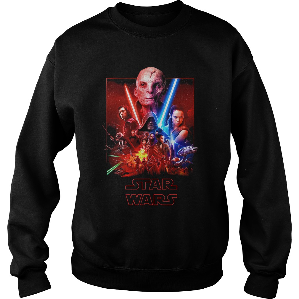 Star Wars the last Jedi (Snoke, Kylo Ren, Rey and Luke) Sweater