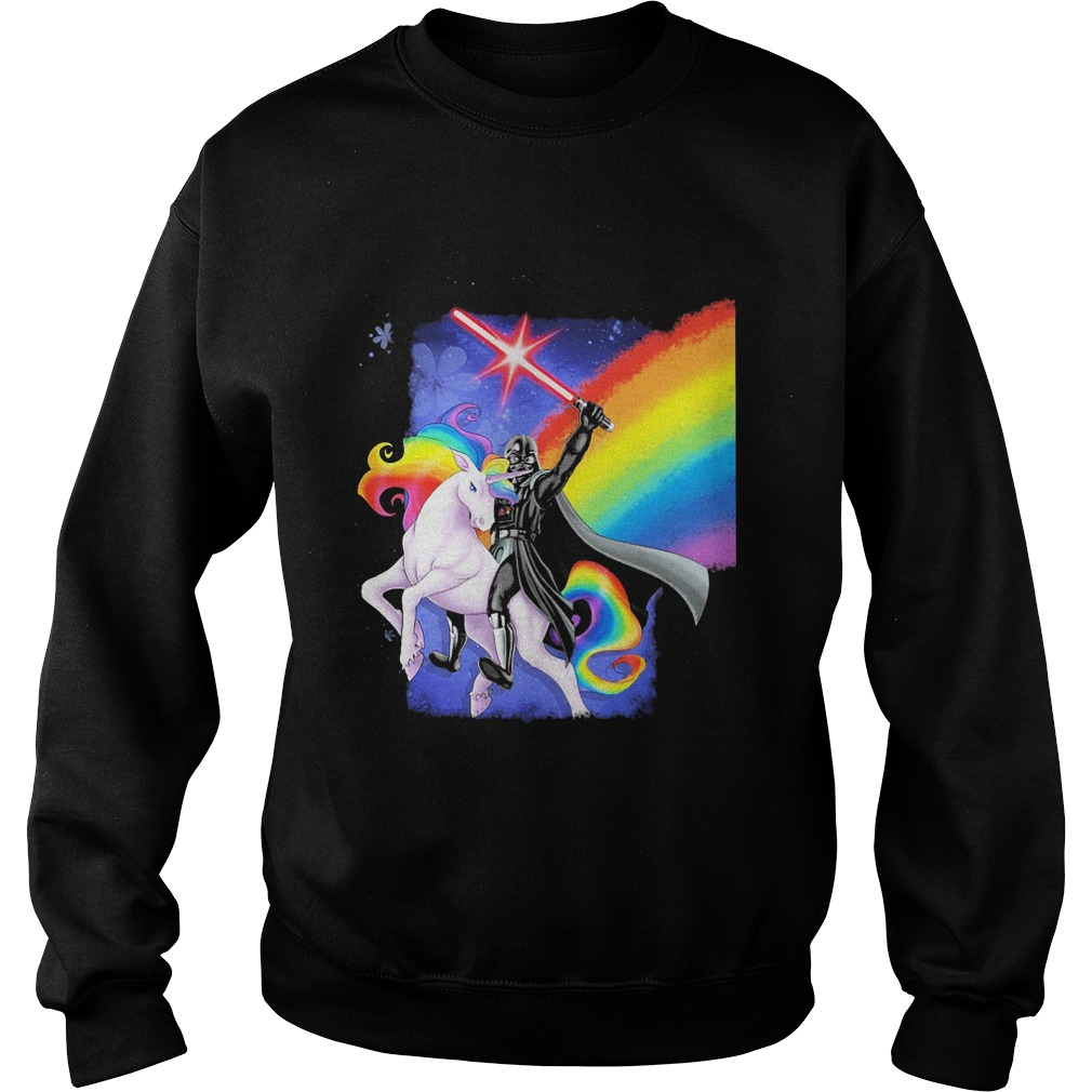 Star Wars: Unicorn and Darth Vader Sweater