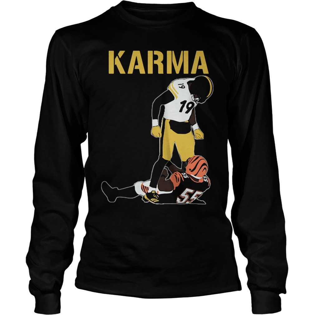 Official Steelers Karma JuJu Smith-Schuster Vontaze Burfict Long Sleeve
